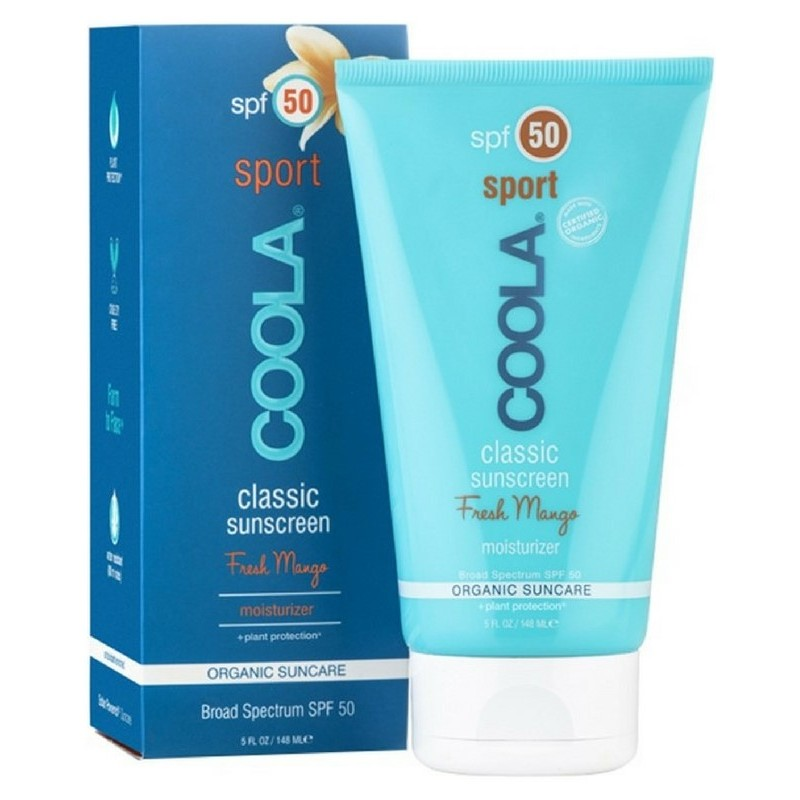 Foto van COOLA Classic Sport Sunscreen Fresh Mango SPF 50 - 148 ml