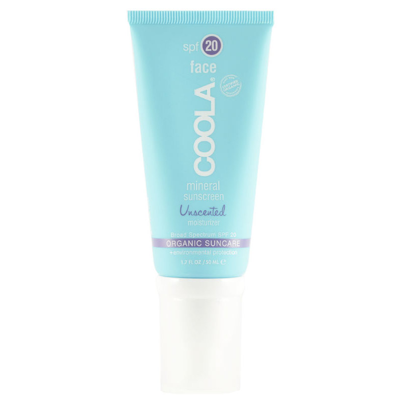 Foto van COOLA Mineral Face Sunscreen Unscented SPF 20- 50 ml U