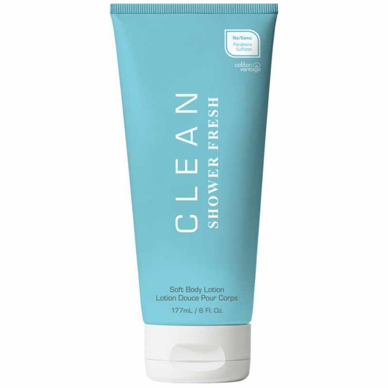Foto van Clean Perfume Shower Fresh Body Lotion 177 ml