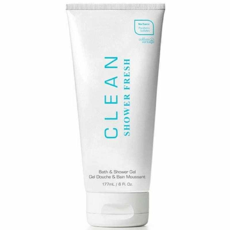 Foto van Clean Perfume Shower Fresh Bath Shower Gel 177 ml U