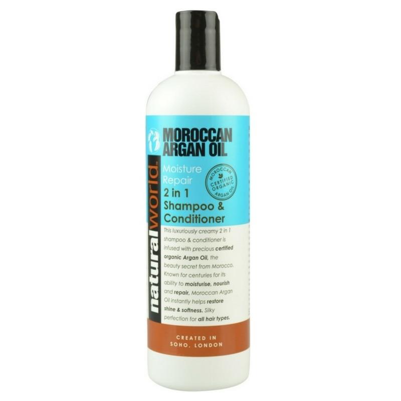 Natural World Argan Oil Shampoo Ml