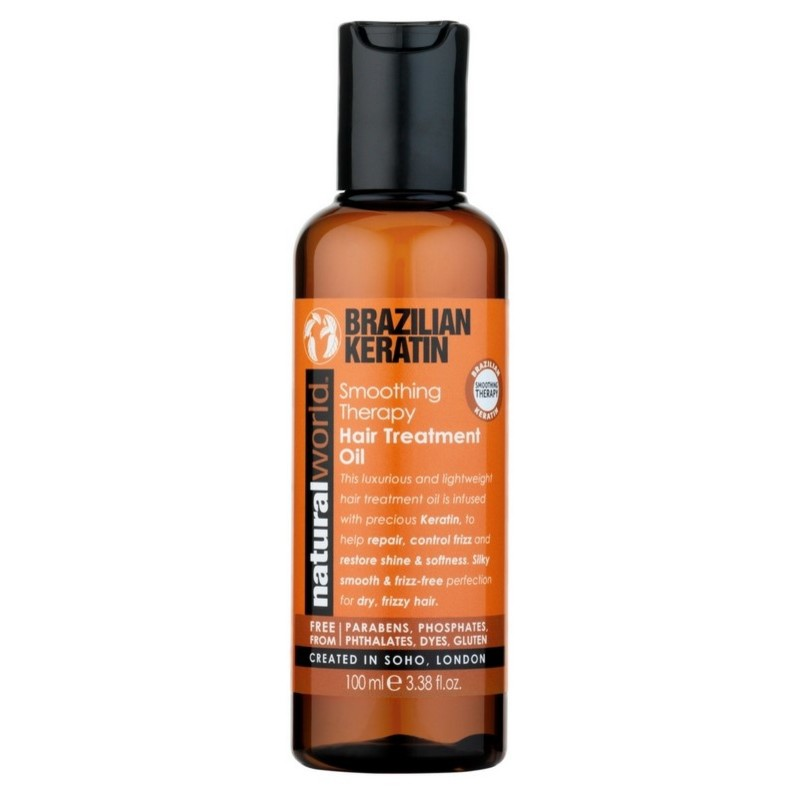 Natural world – Natural world brazilian keratin smoothing therapy conditioner 500 ml på nicehair.dk