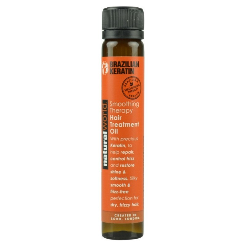 Natural world brazilian keratin hair treatment oil 100 ml fra Natural world på nicehair.dk