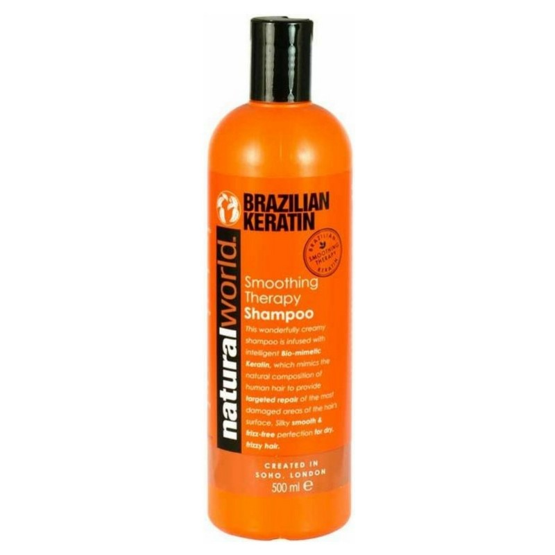 Natural world brazilian keratin hair treatment oil 25 ml fra Natural world fra nicehair.dk