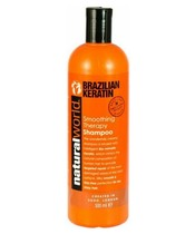 Natural World Brazilian Keratin Smoothing Therapy Shampoo 500 ml