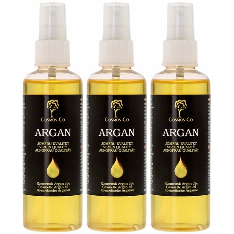 3 x Cosmos Co Argan Oil 100 ml thumbnail