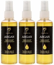 3 x Cosmos Co Argan olie 100 ml.