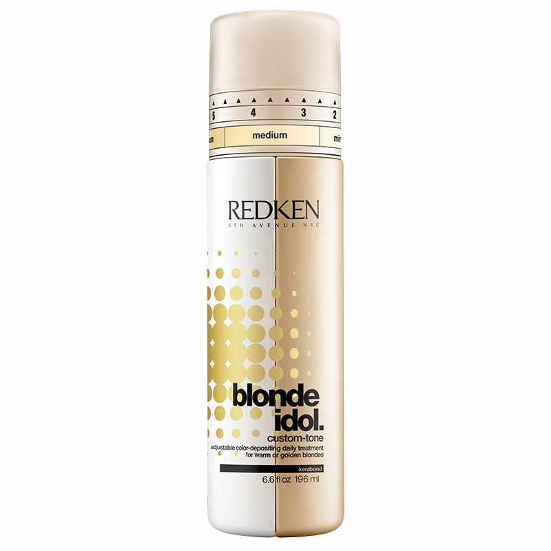 Redken Blonde Idol Custom-Tone Gold Conditioner 196 ml