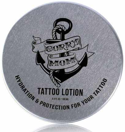Sorry mom tattoo lotion 100 ml for Best lotion for old tattoos