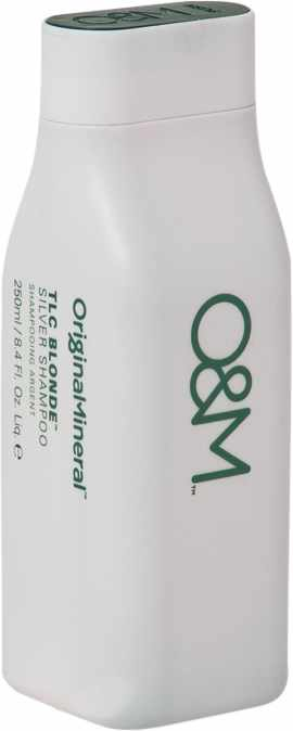 O&M Original Mineral TLC Blonde Silver Shampoo 250 ml (US)