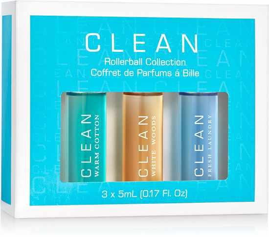 Foto van Clean Perfume Rollerball Collection 3 x 5ml U