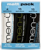 men-ü Matt Pack 3x15 ml