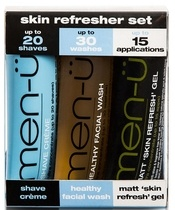 men-ü Skin Refresher Set 3x15 ml