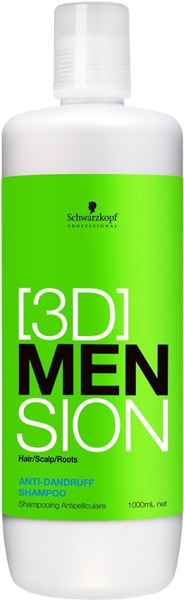 Foto van 3D MEN Anti-Dandruff Shampoo 1000 ml US