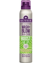 Aussie Wash + Blow Dry Shampoo Boost Me 180 ml