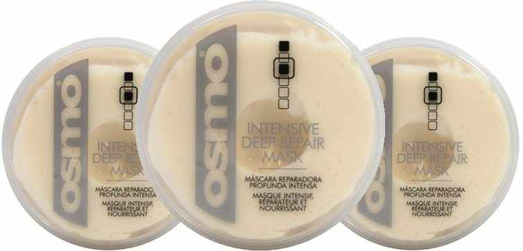 3 x OSMO ESSENCE Intensive Deep Repair Mask 100 ml