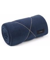 Karmameju Fleece Blanket Navy 140x250 cm (U)