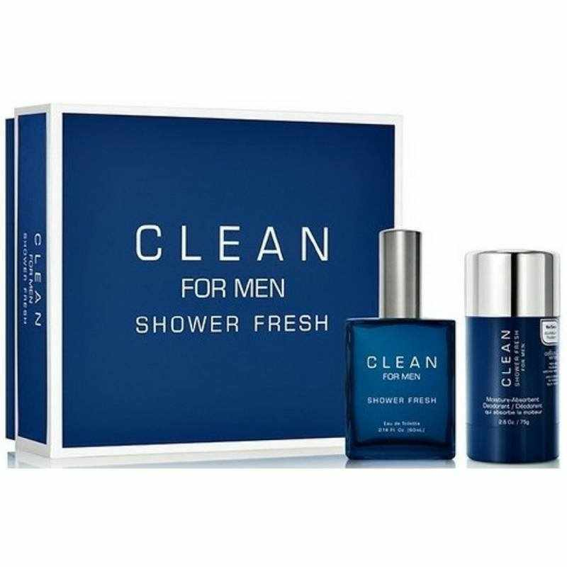 Foto van Clean Perfume Shower Fresh For Men Gift Set U