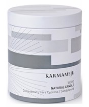 Karmameju WOOD Natural Candle