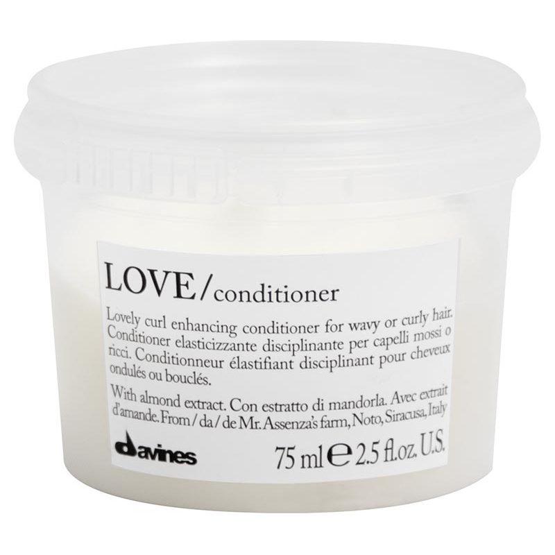 N/A Davines love lovely curl enhancing shampoo 75 ml fra nicehair.dk