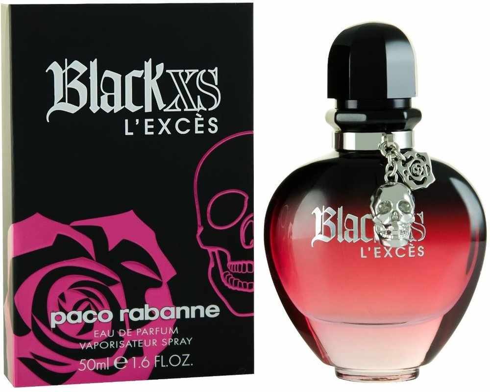 Paco Rabanne Black XS for Her Eau de Parfum Spray 50 ml
