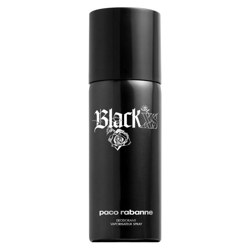 paco rabanne black xs deodorant spray 150 ml. Black Bedroom Furniture Sets. Home Design Ideas