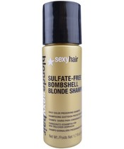 Blonde Sexy Hair Sulfate-Free Bombshell Blonde Shampoo 50 ml.