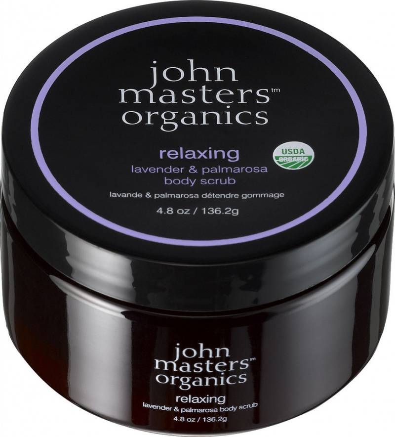 John Masters Relaxing Lavender & Palmarosa Body Scrub 136,2 Gr.