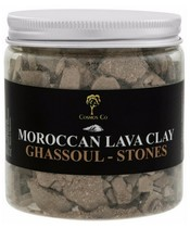 Cosmos Co Moroccan Lava Clay - Ghassoul Stones 200g