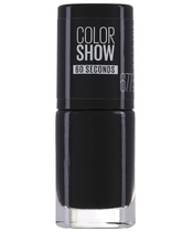 Maybelline Color Show 60 Seconds Neglelak 6,7 ml - 677 Blackout