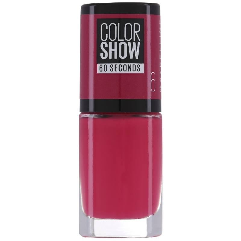 Maybelline Color Show 60 Seconds Burgundy KISS7 Ml