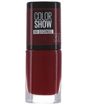 Maybelline Color Show 60 Seconds Neglelak 7 ml - 352 Downtown Red