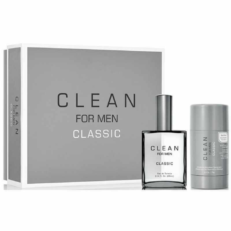 Foto van Clean Perfume For Men Classic Gift Set U