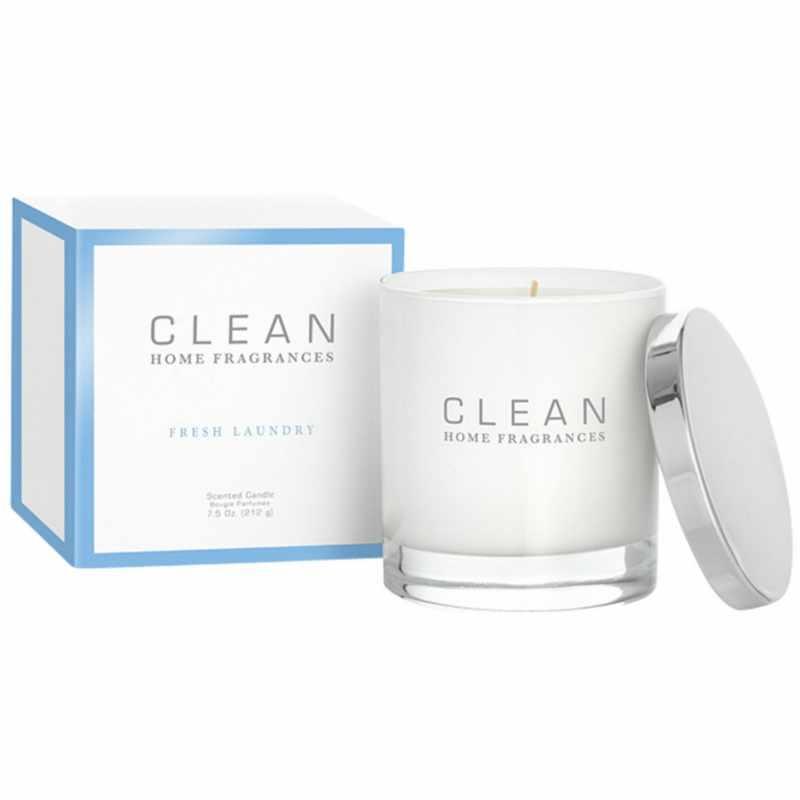 Foto van Clean Perfume Fresh Laundry Scented Candle 212 g U