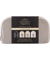 John Masters Organics Essential Travel Kit For Hair And Body