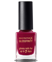 Max Factor Glossfinity Nail Polish 11 ml - Burgundy Crush 155