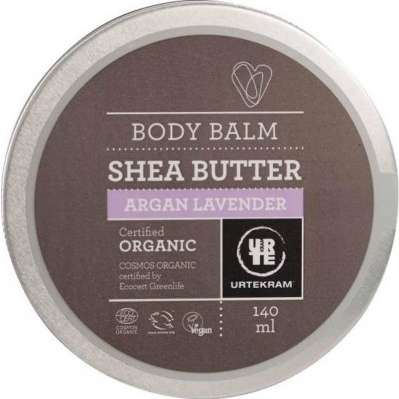 Urtekram Body Balm Shea Butter Argan Lavender 140 ml