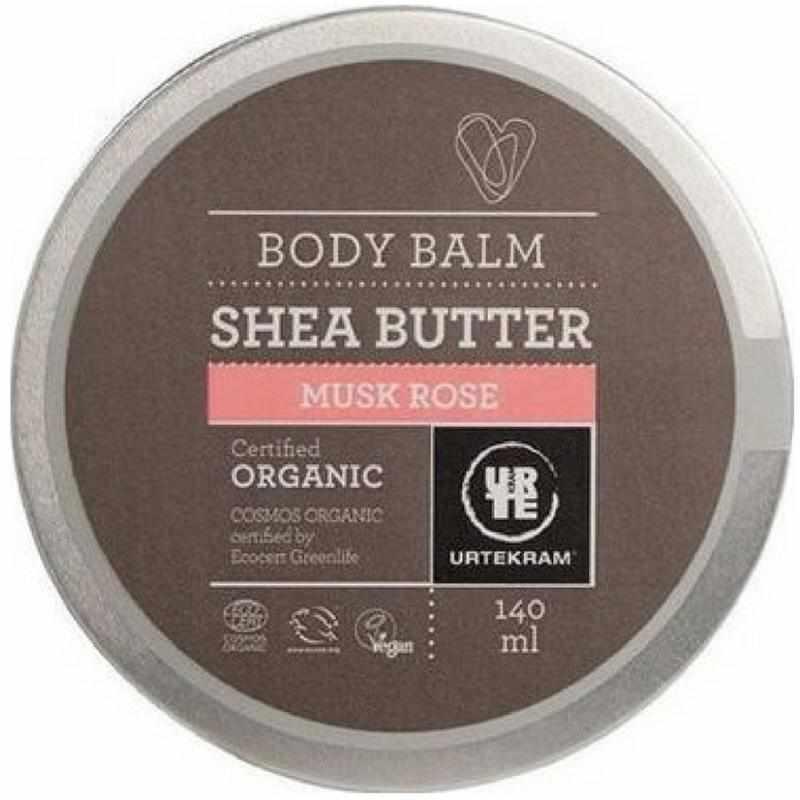 Urtekram Body Balm Shea Butter Musk Rose 140 ml