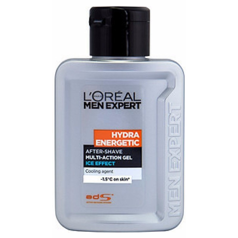 LOreal Men Expert Hydra Energetic After-Shave Multi-Action Gel Ice Effect 100 ml