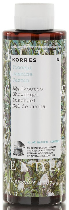 KORRES Showergel Jasmine 250 ml