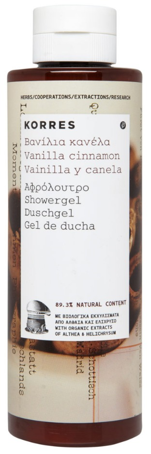 KORRES Showergel Vanilla Cinnamon 250 ml