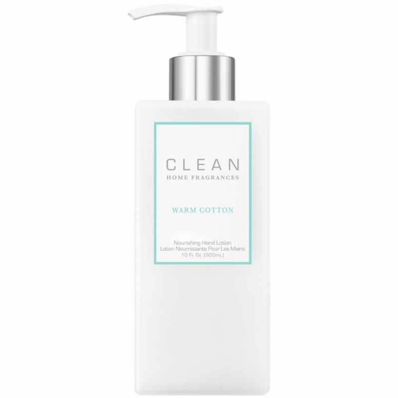 Foto van Clean Perfume Warm Cotton Nourishing Hand Lotion 300 ml