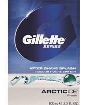 Gillette Series After Shave Splash Arcticice 100 ml