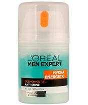 L'Oreal Men Expert Hydra Energetic Quenching Gel Anti-Shine 50 ml (U)