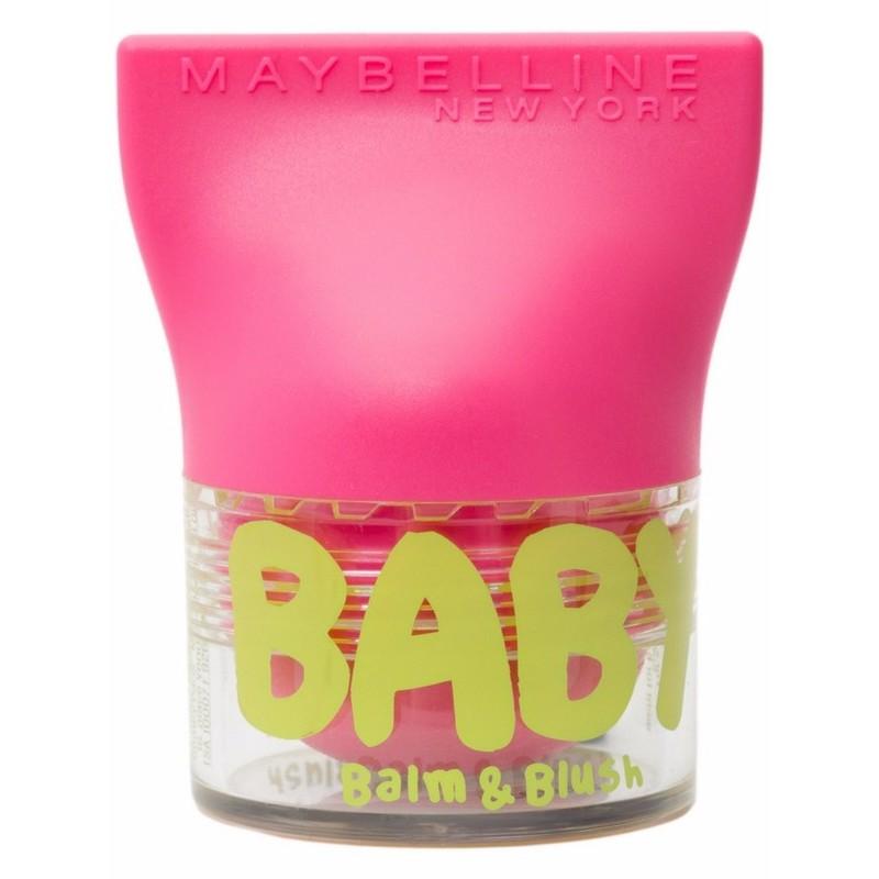 Maybelline Baby Lips Balm Amp Blush 02 Flirty Pink