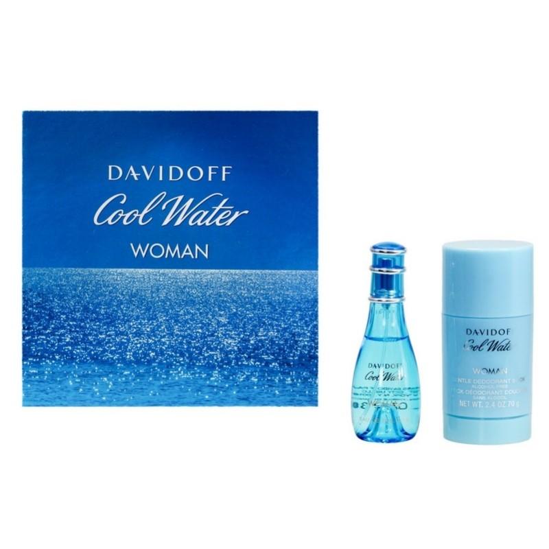 davidoff cool water woman gift set u 29 10. Black Bedroom Furniture Sets. Home Design Ideas