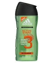 Adidas Active Start 3 in 1 Showergel Men 250 ml