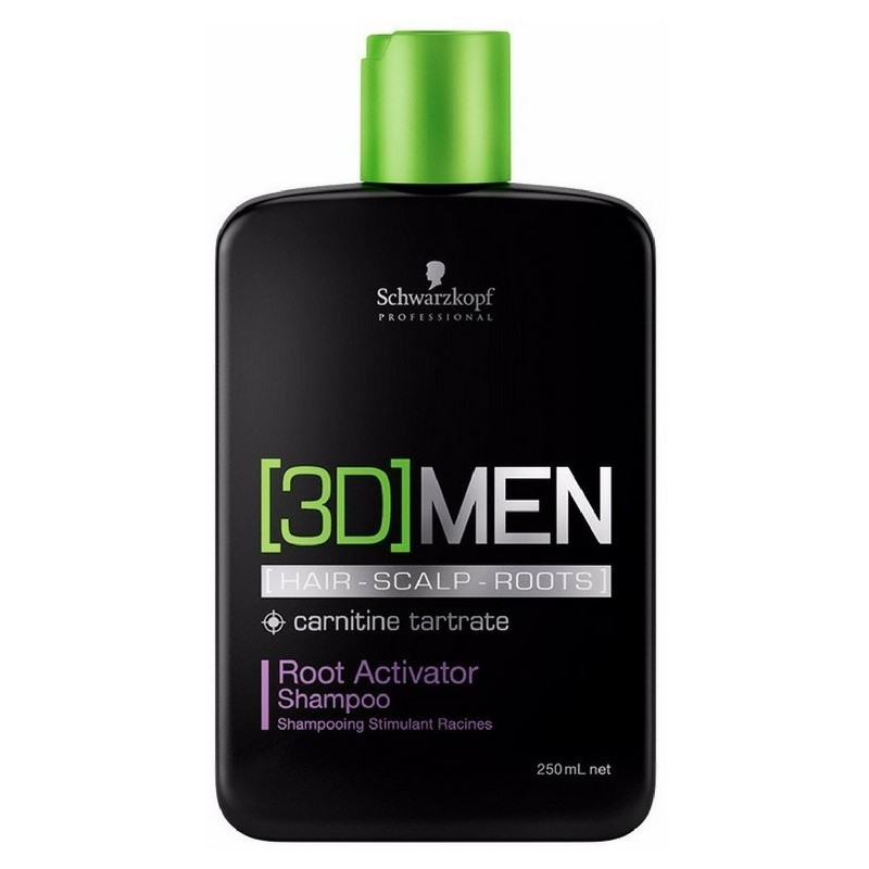 Foto van 3D MEN Root Activator Shampoo 250 ml US