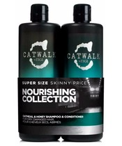 TIGI Catwalk Oatmeal & Honey Duo 2x750 ml U. Pumpe