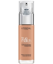 L'Oréal Paris Cosmetics True Match Foundation 30 ml - 5.D/5.W Golden Sand
